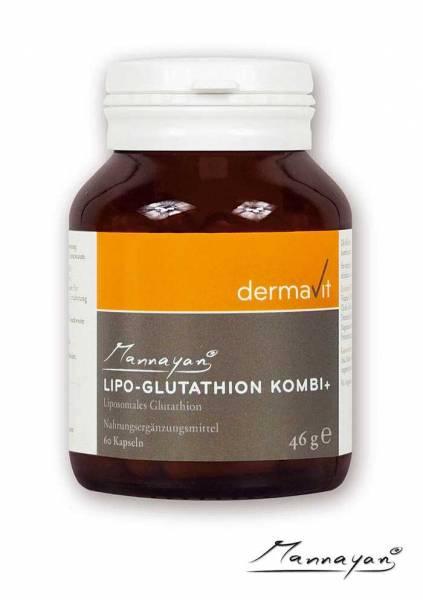 Mannayan Lipo-Glutathion Komibi+: Antioxidantien-Kapseln gegen freie Radikale