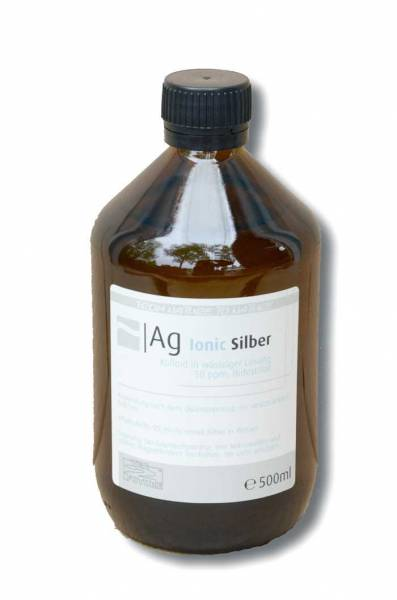 Preview: Colloidal silver 500ml - natural, versatile antibiotic in high quality