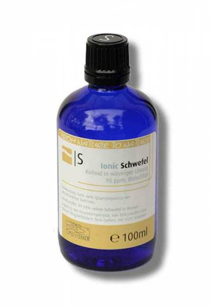 Preview: Colloidal sulphur 100ml - perfectly bioavailable as a colloidal mineral