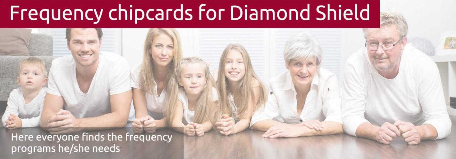 The chipcards have the diversity of a three-generation family