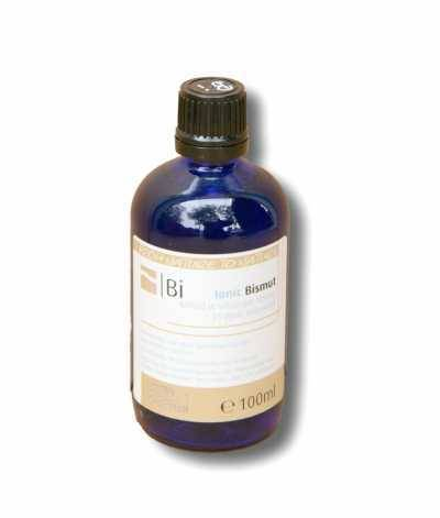 Colloidal bismuth - perfectly bioavailable as a colloidal mineral