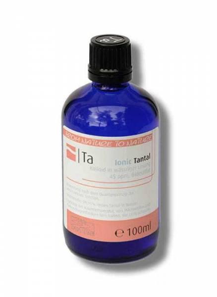 Colloidal tantalum - perfectly bioavailable as colloidal mineral