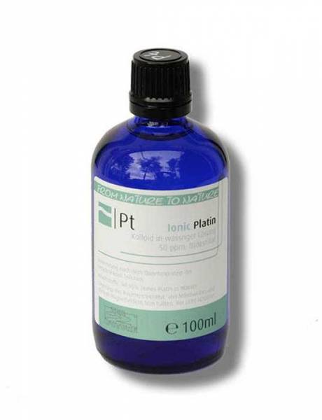 Colloidal platinum 100ml - perfectly bioavailable as a colloidal mineral